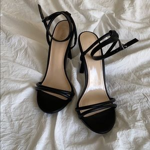FOREVER 21 heels WORN ONCE!